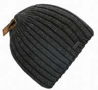 thick cotton double wool Knitted cap outdoor sport skiing hat winter and autumn 3color 1pcs free shipping