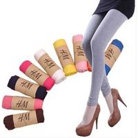 Autumn Winter Modal Plus Size Thin Ankle Length Trousers Skinny Basic Inside Pants Slim Leggings For Women Free Shipping #0010