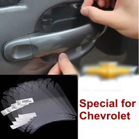 Free shipping High quanlity rhinoceros leather car door bowl protective films for Chevrolet CRUZE SAIL BLAZER AVEO LOVA SPARK