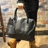 Hand bag designer handbags high quality men messenger bags pu leather solid london vintage office bag crossbody bags for women
