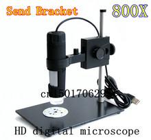 Самые свежие 8 из светодиодов 800X USB цифровой микроскоп эндоскопа лупа камеры