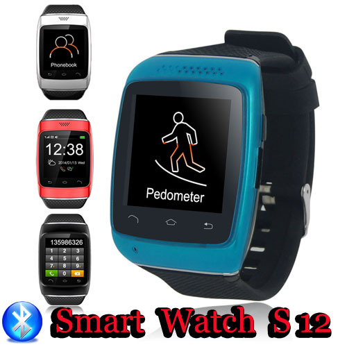 S12 Bluetooth SmartWatch SMS /android Samsung s3/s4/s5/2/3 HTC Sony Blackberry электроплитка kitfort кт 108 индукционная
