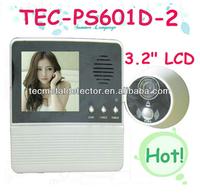 3.2 inch screen video door bell TEC601D-2AH , peephole video door bell