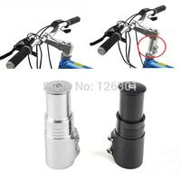 Bicycle Fork Stem Extender Bike Handlebar Riser Head Up Adapter