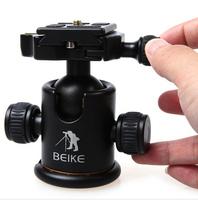 "BEIKE BK-03 Photography Tripod Ball Head Ballhead and Quick Release Plate Pro Camera Tripod Max to 8KG 1/4"" Screw"