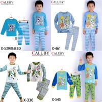 Boys Frozen Snowman Olaf Pajamas Sets Kids Autumn -Summer Clothing Set New 2014  Children Frozen 2-7Y Pyjamas