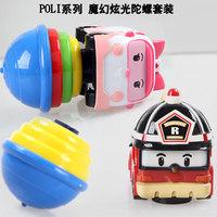 Robocar Poli Transformation Robot Car beyblade children Toys/ Roy Poli Amb classic toys for children