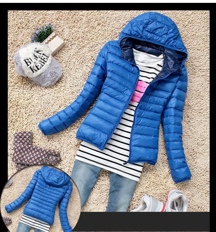 New fashion 2014 Womens Winter Casual Warm Thin Slim Down Jacket Female Cotton Hooded Coat Women's Parka Windbreaker Outerwear(China (Mainland))