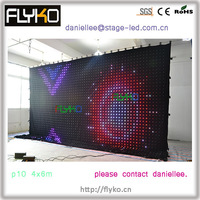 Free Shipping Beautiful LED Video Curtain Fk4610