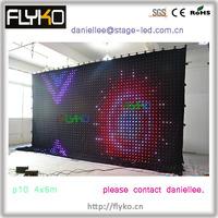 Free Shipping Beautiful LED Video Curtain Fk4610