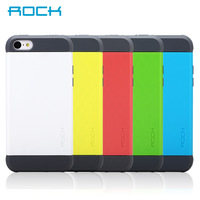 Free Shipping! Rock Mobile Phone Bags & Cases for Apple iphone 5C Simple Solid Color Silicone Case With Dust Plug
