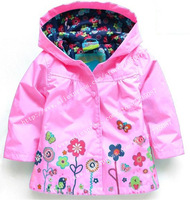 Retail children winter outwear. Hooded jacket, Girls Jackets, Outerwear & Coats, Children's Coat, Spring Autumn Baby Coat Girls.