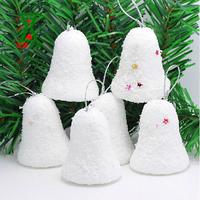 6pcs/lot(on a tree)Christmas Decoration for trees,christmas bell for Christmas Tree Ornamet,merry christmas
