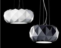Free shipping new classical color black and White Diamond Pendant Fashion glass lamp bar restaurant