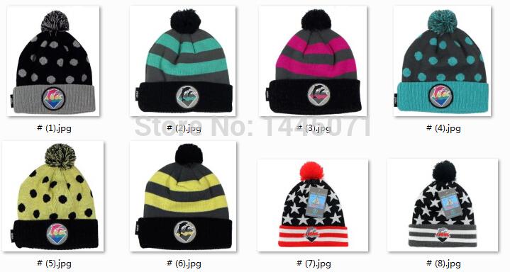 hip hop pink dolphin beanie hats pom pom hat knitting pattern winter dresses custom wholesale free shipping(China (Mainland))