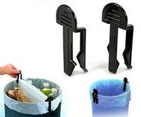330packs/lot 2pcs/pack Useful Home Accessories Garbage Bag Holder Trash Bin Clips