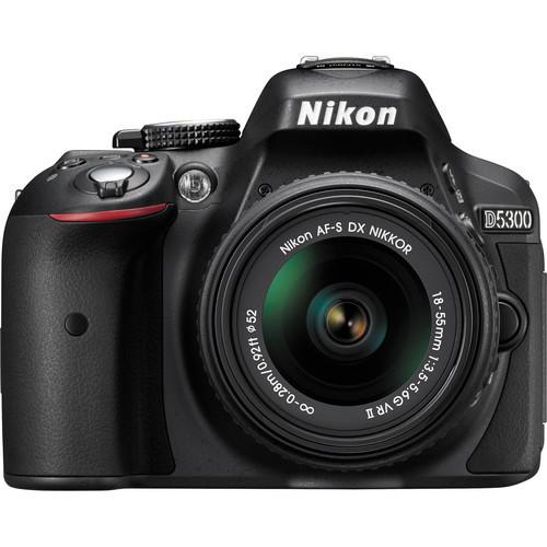 Nikon D5300 DSLR Digital Camera with 18 55mm VR Lens