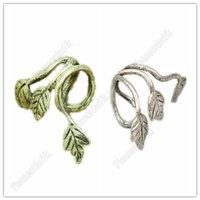1X Hot Stud Earring Ear Cuff Leaf Design Earrings Leaves Clip Ear Ring