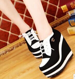 À prova d ' água de amarrar sapatos altos sapatos femininos de fundo(China (Mainland))