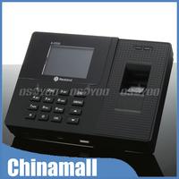 "New 2.8"" LCD Biometric Fingerprint Password ID Card Attendance Time Clock Recorder Express 10pcs/lot"