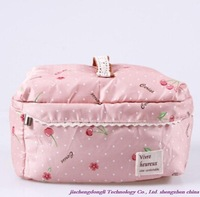 New Arrivals! Hot wholesale high-quality large-capacity portable storage bag, multifunction canvas cosmetic bag
