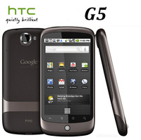 "G5 Original Unlocked HTC Google Nexus One G5 GPS Wi-Fi 5.0MP 3.7""TouchScreen 3G Cell phone Free Shipping"