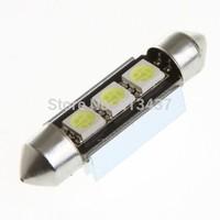 39mm 3 5050 SMD LED Canbus White Car Interior Dome Festoon Light Lamp Bulb