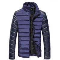 Hot sale free shipping men winter coat overcoat winter jacket stand collar outdoor outwear CB588