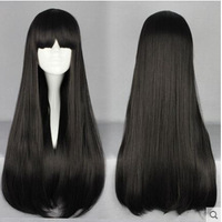 Japan Women Anime Wigs Super Cute Lolita Japanese Style Black Cosplay Costumes Wig Lolita Costumes COS237