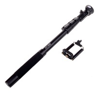EOSCN188 Self Held Monopod ZSS-188 With Phone Clip Professional Mini Video Camera Monopods Tripods Monophod Free Shipping