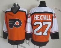 cheap stitched ice hockey jersey  Philadelphia Flyers #27 Ron Hextall  men's ice hockey jersey/ shirt
