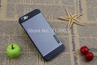 1pcs/lot Luxury Motomo Brushed Hard Case For iPhone 6Plus  5.5inch Slim Aluminum Brushed Plastic Phone Back Cover  Free Shipping