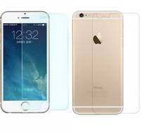 """1pcs Front +1pcs Back Clear Glossy LCD  Mobile Phone Screen Protector Protective Film For iPhone 6 4.7"""""""