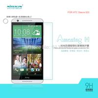 Free ship 5pcs NILLKIN  Amazing  H & H+ Nanometer Anti-Explosion Glass Screen Protectors for  HTC Desire 820  case