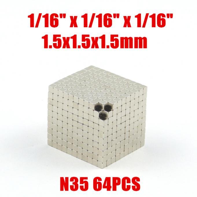 Магнитные материалы Chinagoodgoods s 64pcs 1/16 x 1/16 x 1/16 N35 N35-1515 lacywear s 16 nez