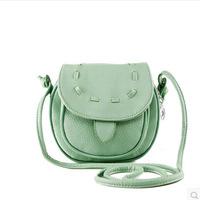 2014 Autumn New Design Small Shoulder Bag Mini Cross-body Bag Vintage Women Messenger Bags 12 Colors Lady Handbags