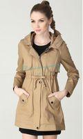 Winter Coat Fashion Windbreaker Casual Overcoat Trench Coat Free Shipping