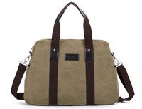 Thick cotton canvas men business briefcase bags fashion multi-functional casual body cross messenger bag men's laptop handbags