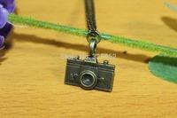 Vintage Jewelry Camera Necklace Pendants Hot Sale Enamel bronze Lovely camera Fashion Necklace