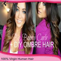 100% Unprocessed brazilian virgin lace front human hair wigs for black women super wave ombre lace wig