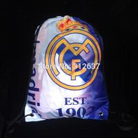 real madrid 2015 bag Wholesale 20 teams can choose 43*33 CM  soccer team flags real madrid kids soccer ball