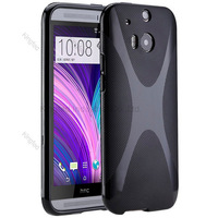 1000pcs/Lot TPU X Line GEL Case Cover for  HTC One 2 M8