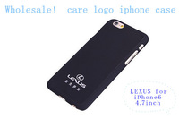 "Hot SALE black lexus car Logo For iPhone 6 / iPhone 6 Plus - Full Wrap Case CartooniPhone 6 4.7"" CaseCoverage Case soft sides"