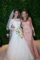 E44 sexy bride romantic custom made lace wedding dress plus size 3/4 sleeve  bridal gown gowns plus size vestido de noiva 2014