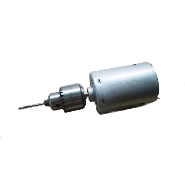 12 ~ 24V 545 Drill Motor Mini portátil compacto elétrico Drill Chuck JT0