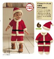 Christmas Santa Claus Winter Rompers Roupas De Bebe Baby Clothing Menina  Baby Set 3 Pieces headgear & Top & Pant WB-25