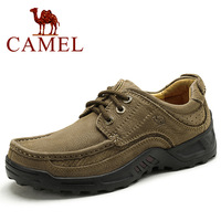 New Brand Name CAMEL Genuine Leather Men's Shoes . Casual Flats Zapatos Hombre # 50750