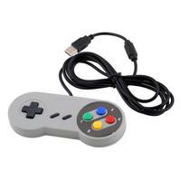 5pcs Super for Nintendo Famicom SF SNES PC Controller Gamepad Joypad USB for Windows for Mac