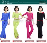 Fashion sportswear women 95% Modal casual Charm Breathable sports/dancing clothes loose yoga set clothing Female 2Pcs/Set