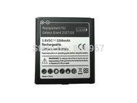 High capacity 50pcs 3.8V 3200mAh replacement battery for Samsung Galaxy Grand 2 G7102 G7106